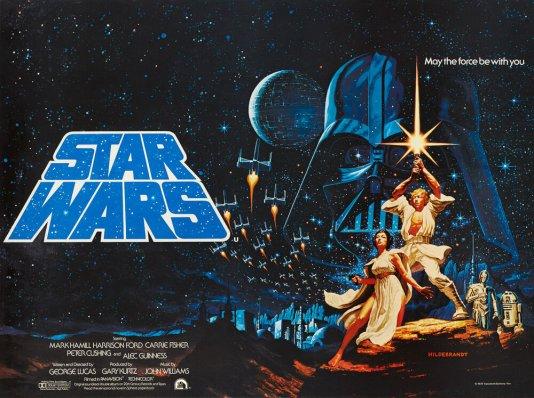 Star Wars Episde IV, a new hope, 1977_24x32in